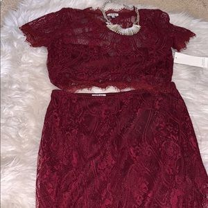 Tobi Dresses - Lace Two Piece